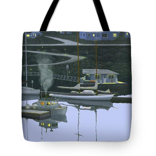 Coastal Morning Tote Bag