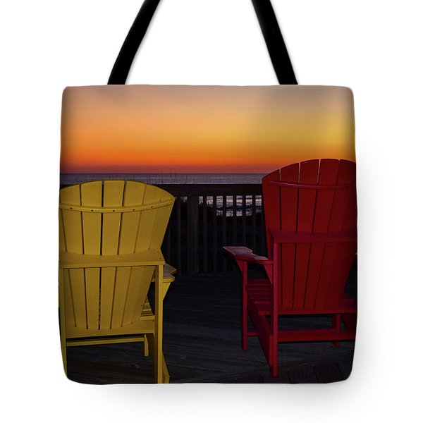 Coastal Mornings Tote Bag
