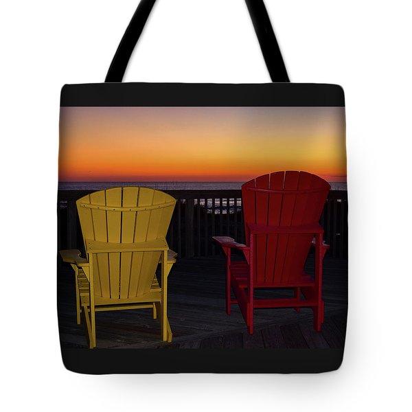 Coastal Mornings Tote Bag