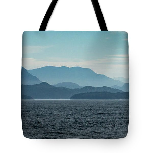 Coastal Mountains Tote Bag