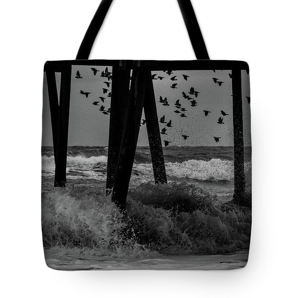 Coastal Movements Tote Bag