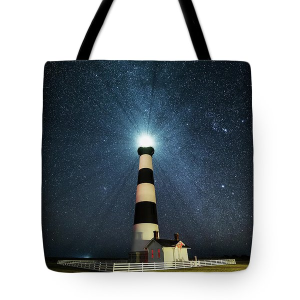 Coastal Nights Tote Bag by Anthony Heflin
