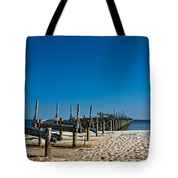 Coastal Remains Tote Bag by Christopher Holmes