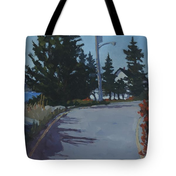 Coastal Road Tote Bag