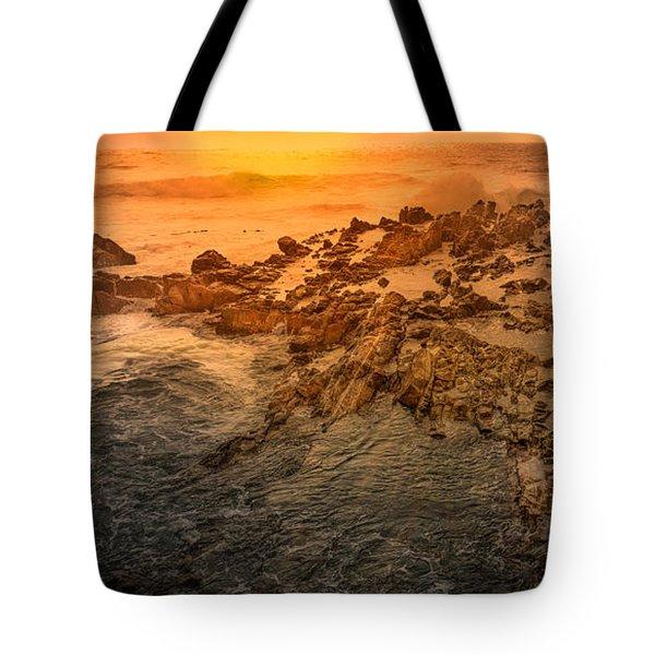 Coastal Rocks Tote Bag