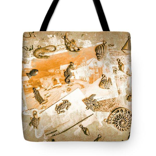 Coastal Romantics Tote Bag