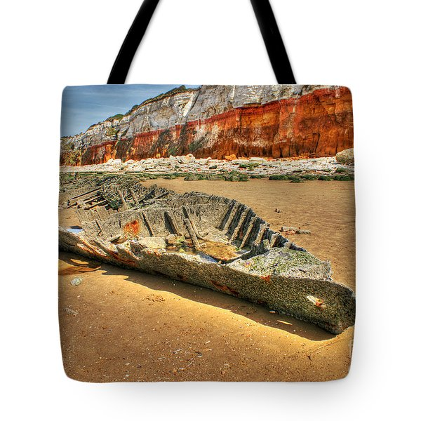 Coastal Skeleton Tote Bag