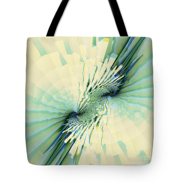 Tote Bag featuring the digital art Coastal Summer by Michelle H
