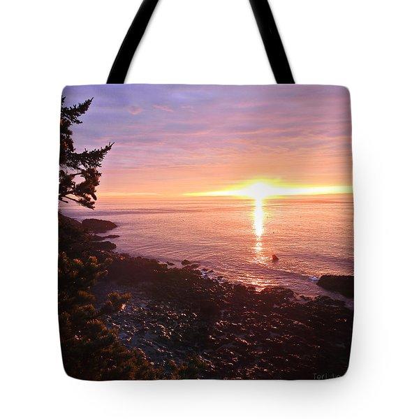 Coastal Sunrise Tote Bag