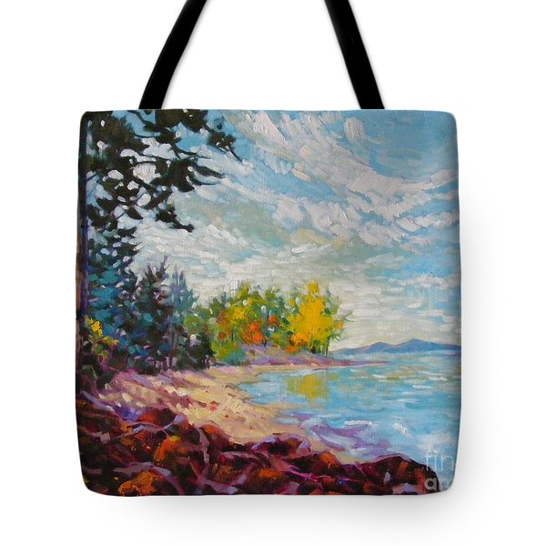 Coastal View Tote Bag