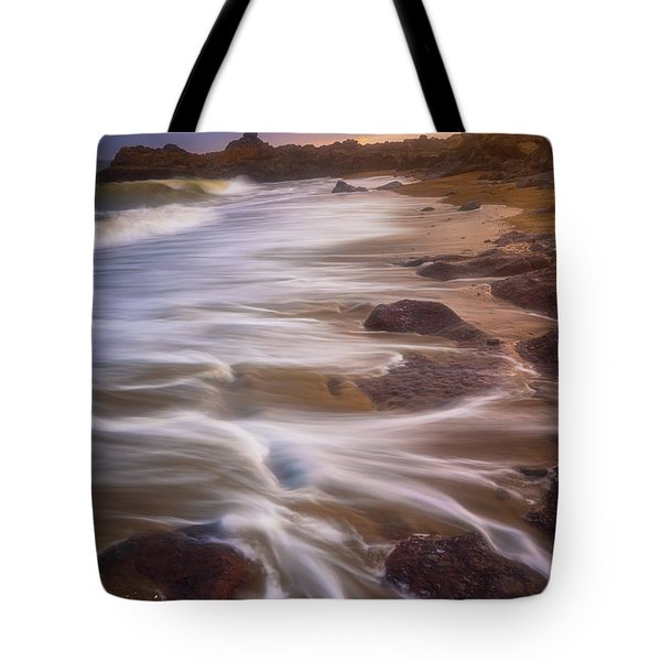 Tote Bag featuring the photograph Coastal Whispers by Darren White
