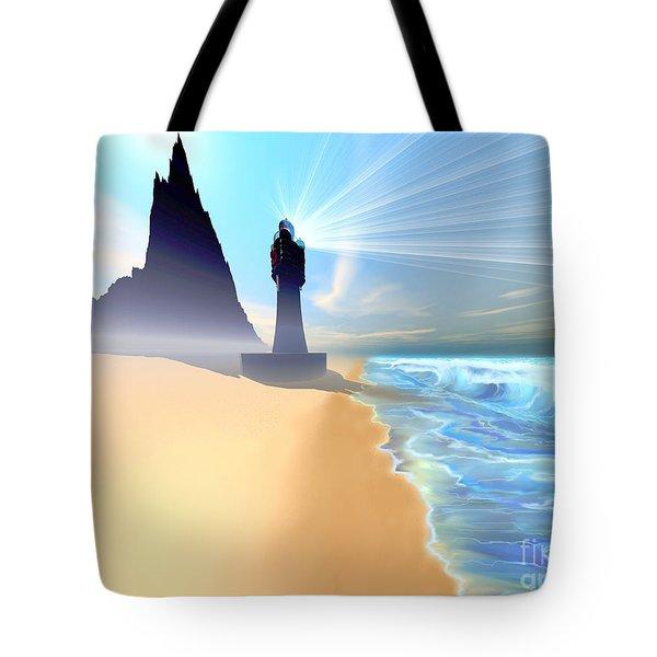 Coastline Tote Bag by Corey Ford