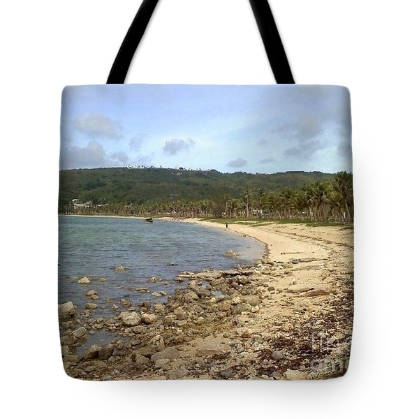 Coastline In Guam II Tote Bag