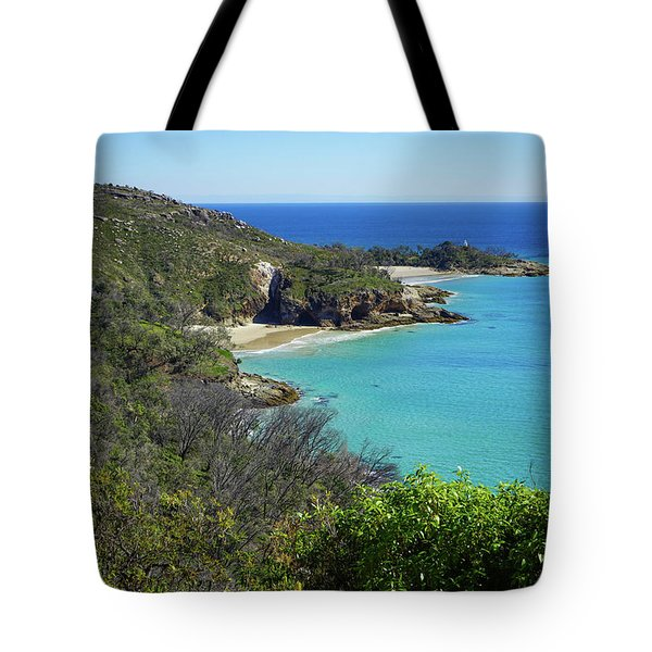 Coastline Views On Moreton Island Tote Bag
