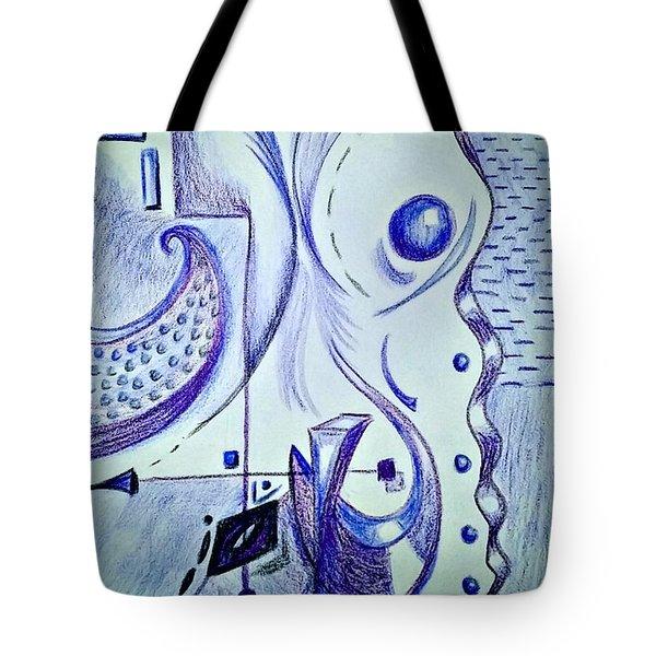 Cobalt Awakening  Tote Bag