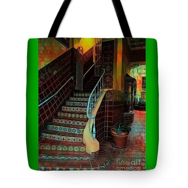 Cobblestone And Tile Tote Bag
