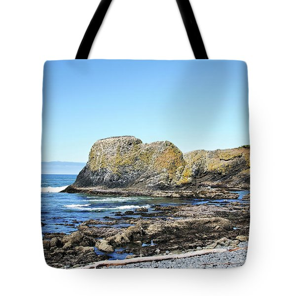 Cobblestone Beach Tote Bag