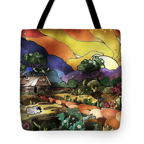 The Shepherd's Cottage Tote Bag