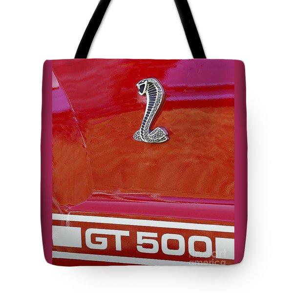 Cobra Gt 500 Emblem Tote Bag