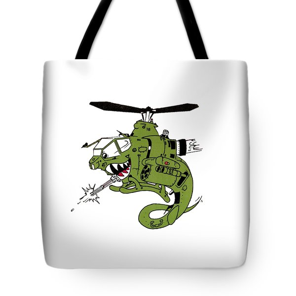 Cobra Tote Bag by Julio Lopez