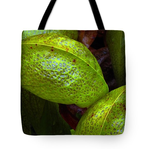 Tote Bag featuring the photograph Cobra Lily Love by Suzy Piatt