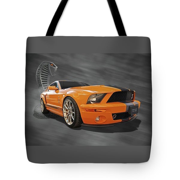 Cobra Power - Shelby Gt500 Mustang Tote Bag