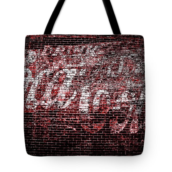 Coca Cola Art Tote Bag