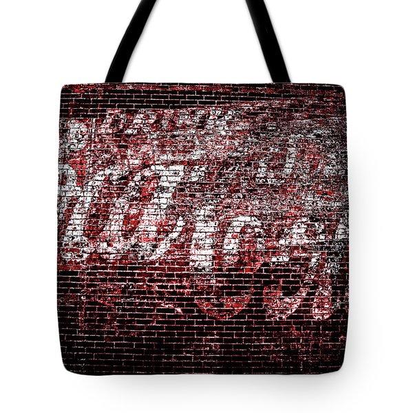 Coca Cola Art Tote Bag