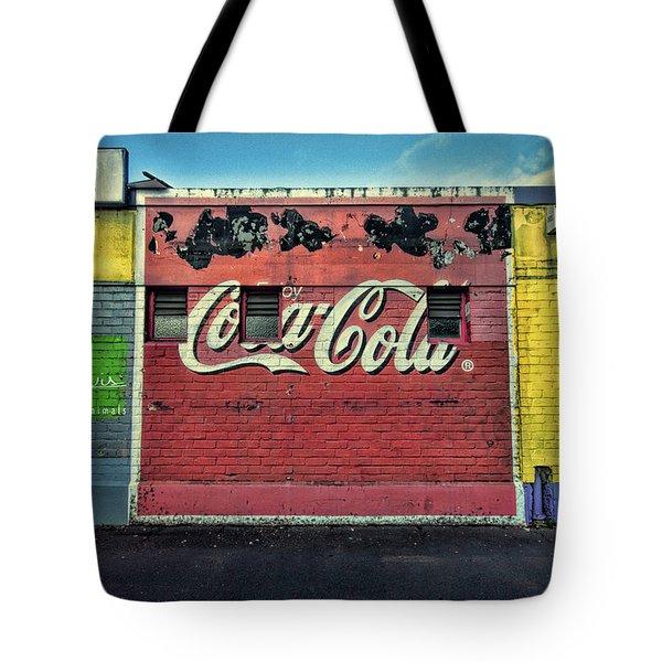 Coca-cola Building Tote Bag