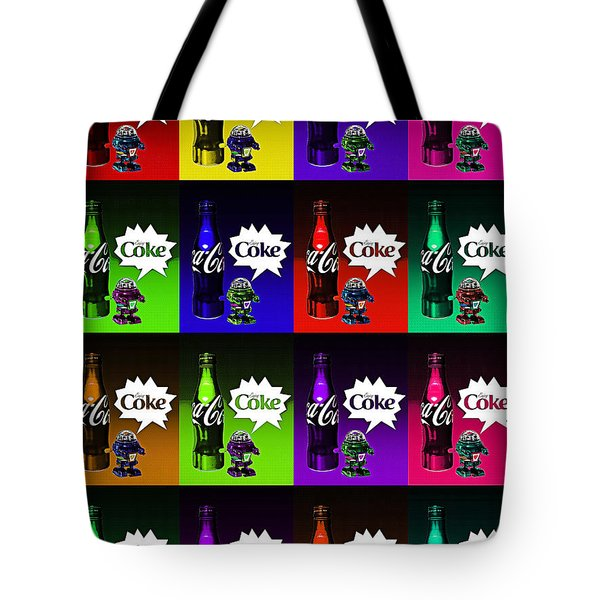 Coca-cola Forever Young 13 Tote Bag