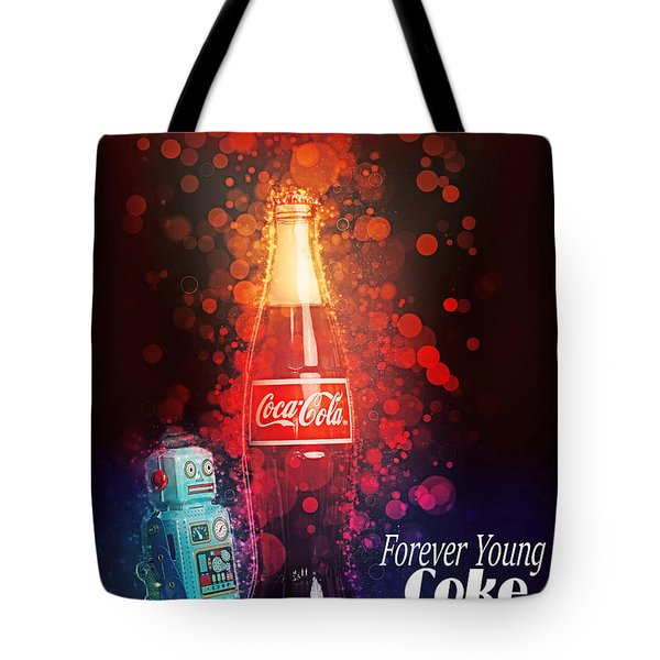 Coca-cola Forever Young 15 Tote Bag