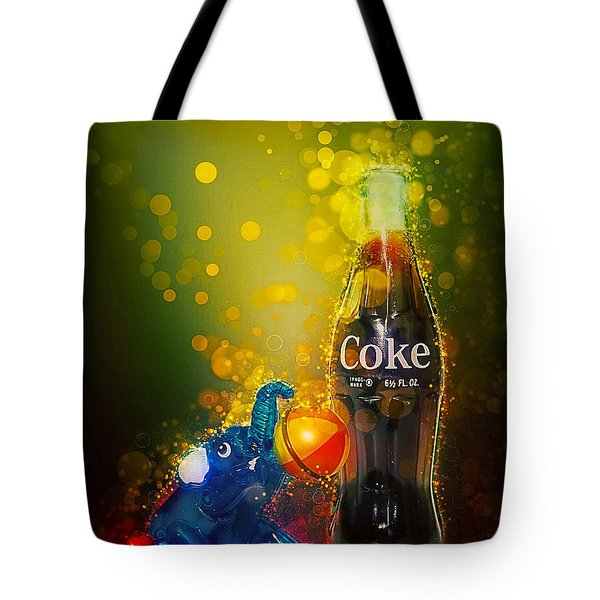 Coca-cola Forever Young 3 Tote Bag