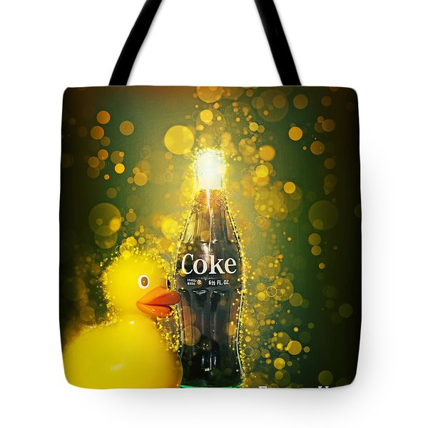 Coca-cola Forever Young 5 Tote Bag