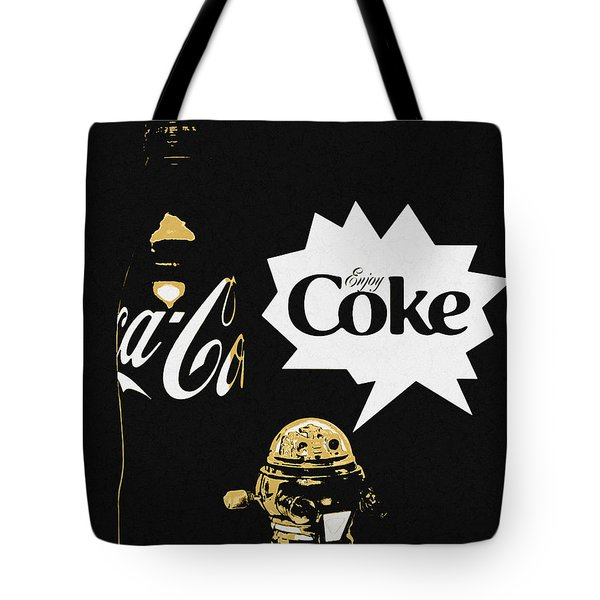 Coca-cola Forever Young 7 Tote Bag
