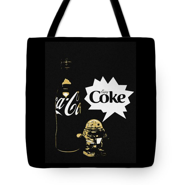 Tote Bag featuring the photograph Coca-cola Forever Young 7 by James Sage