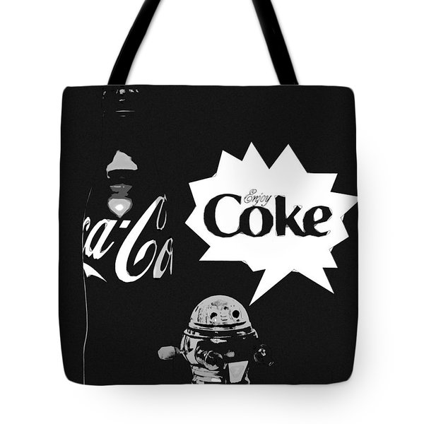 Coca-cola Forever Young 9 Tote Bag