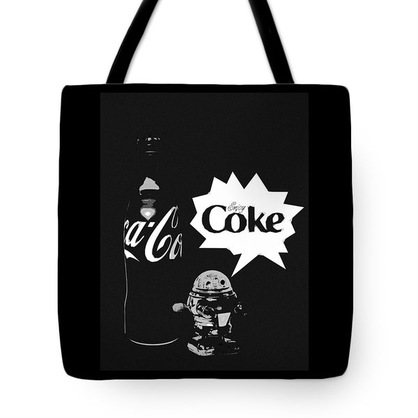 Tote Bag featuring the photograph Coca-cola Forever Young 9 by James Sage