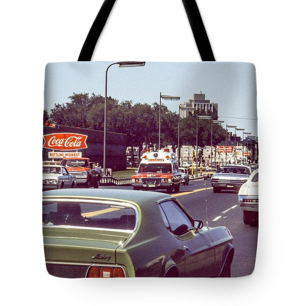 Coca Cola Plant On Central Ave Tote Bag