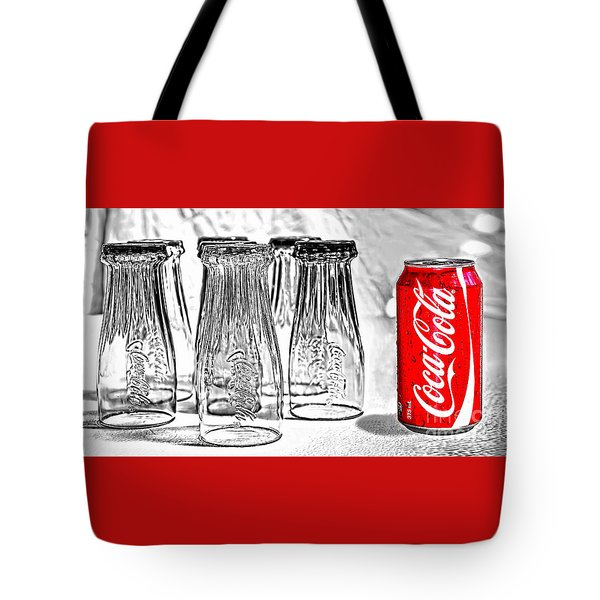 Coca-cola Ready To Drink By Kaye Menner Tote Bag