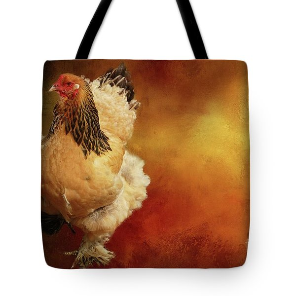 Cochin Chicken Tote Bag