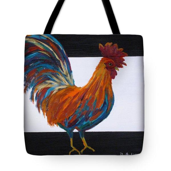 Cock-a-doodle-doo Tote Bag