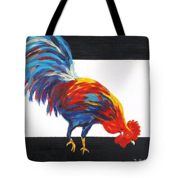 Cock-a-doodle-doo-too Tote Bag