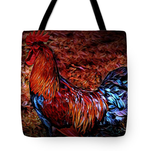 Cock Rooster Tote Bag