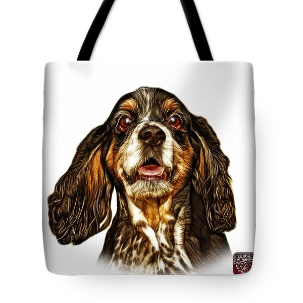 Cocker Spaniel Pop Art - 8249 - Wb Tote Bag