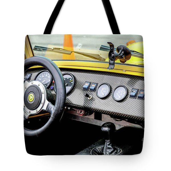 Cockpit 7 Tote Bag