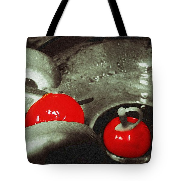 Cocktail Cherries Tote Bag