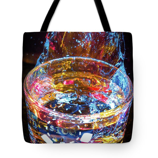Cocktail Chip Tote Bag