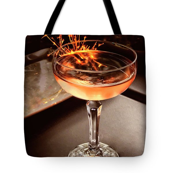 Cocktail Dazzle Tote Bag