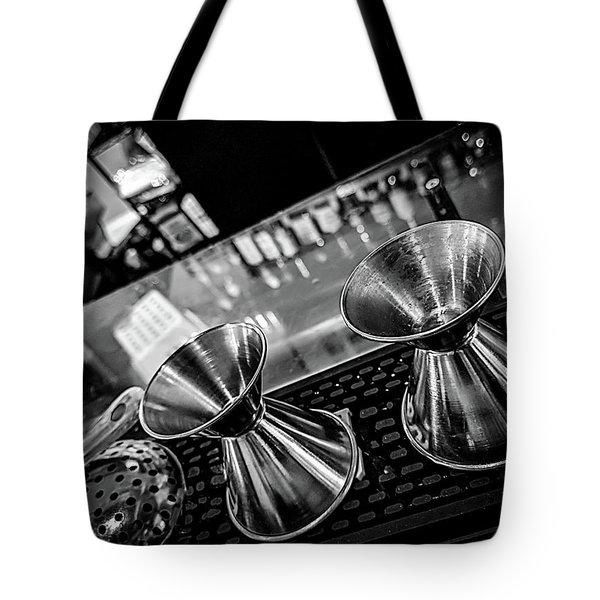 Cocktail Preparation Tote Bag
