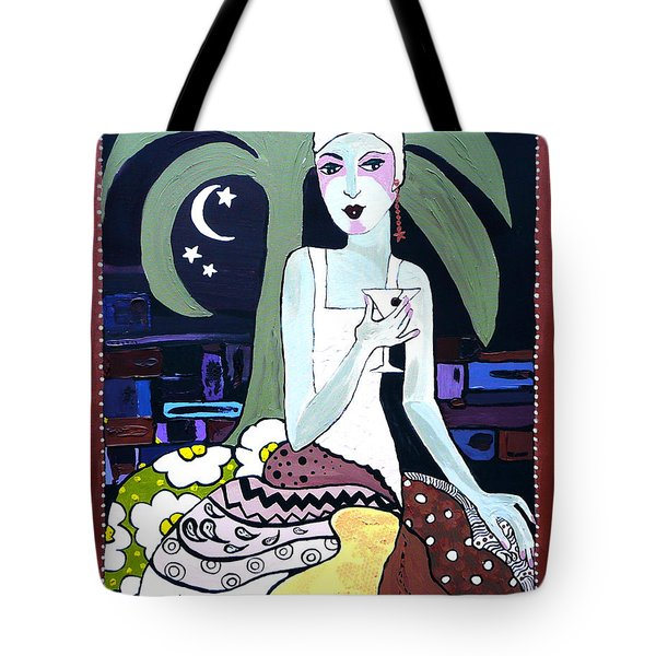 Cocktails And Laughter  Tote Bag